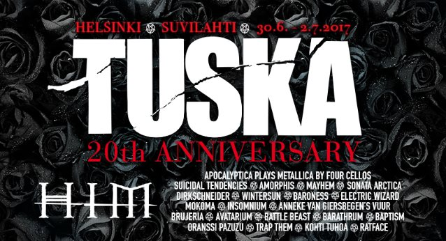Finland's Biggest Heavy Metal Festival TUSKA Celebrates 20th Anniversary In 2017