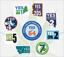Marijuana Ballot Initiatives 2016