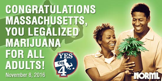 Massachusetts Legalized Marijuana