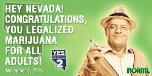 Nevada Legalized Marijuana