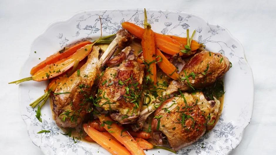 Braised Turkey Leg recipe from Bon Appétite magazine