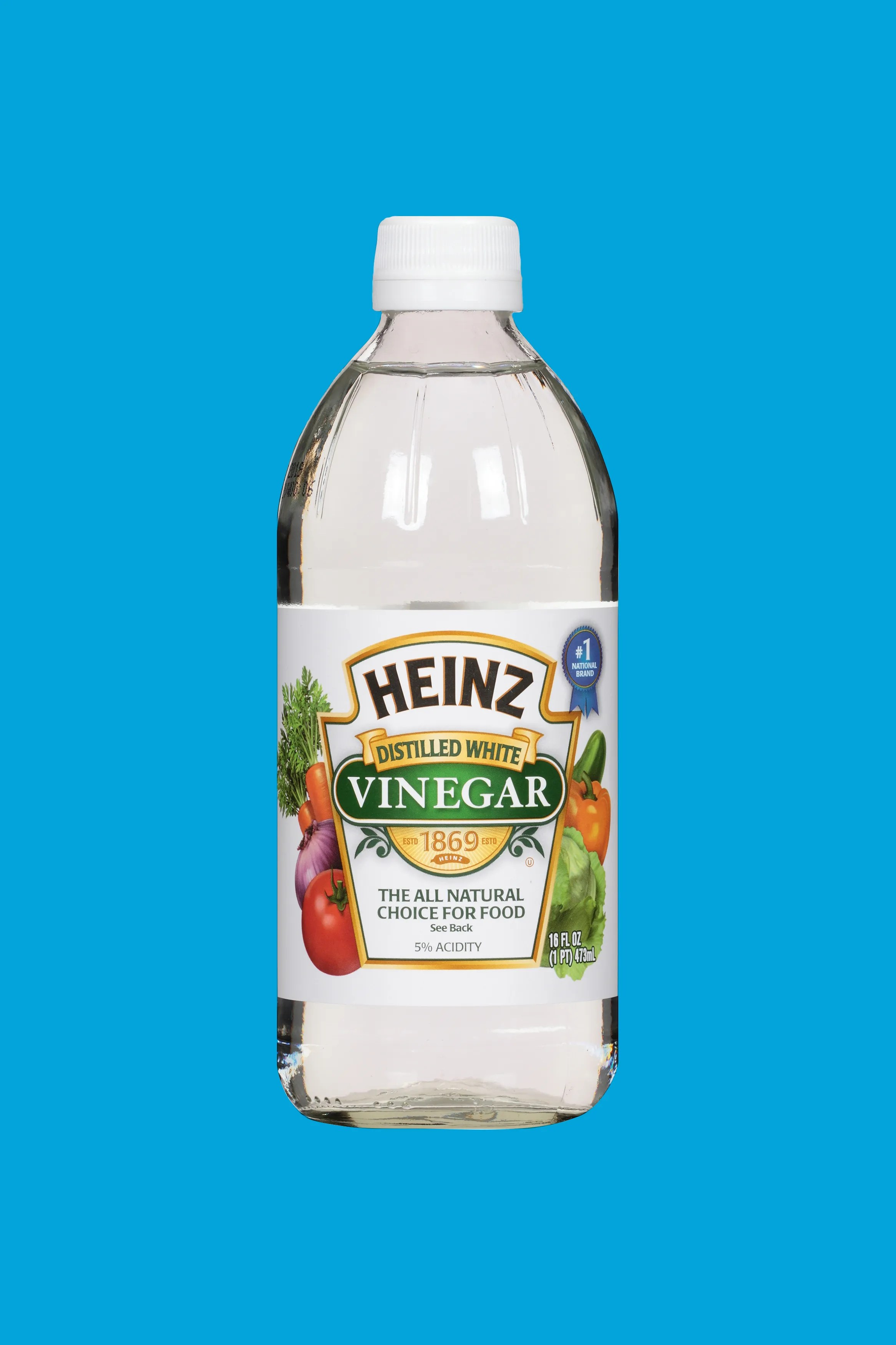 cleaning with vinegar in your kitchen