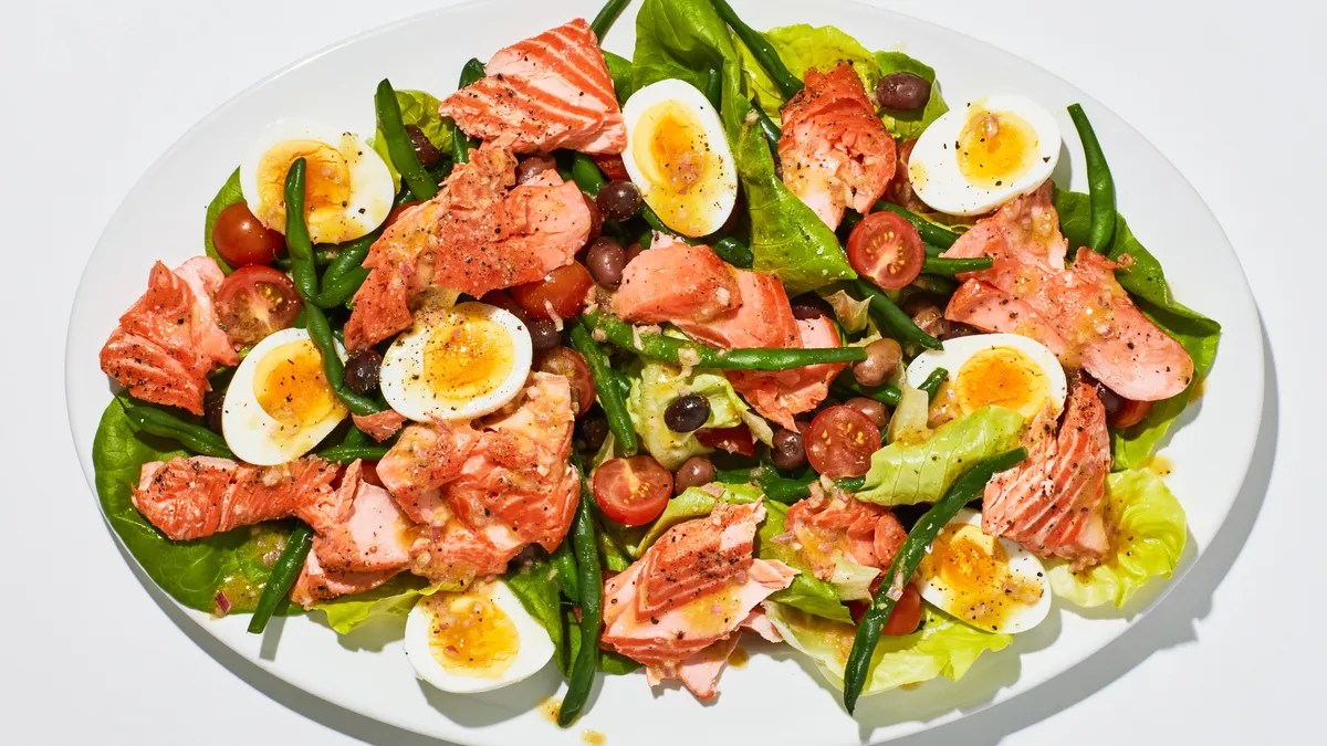 Summer Salmon Ni 231 Oise Recipe Bon Appetit