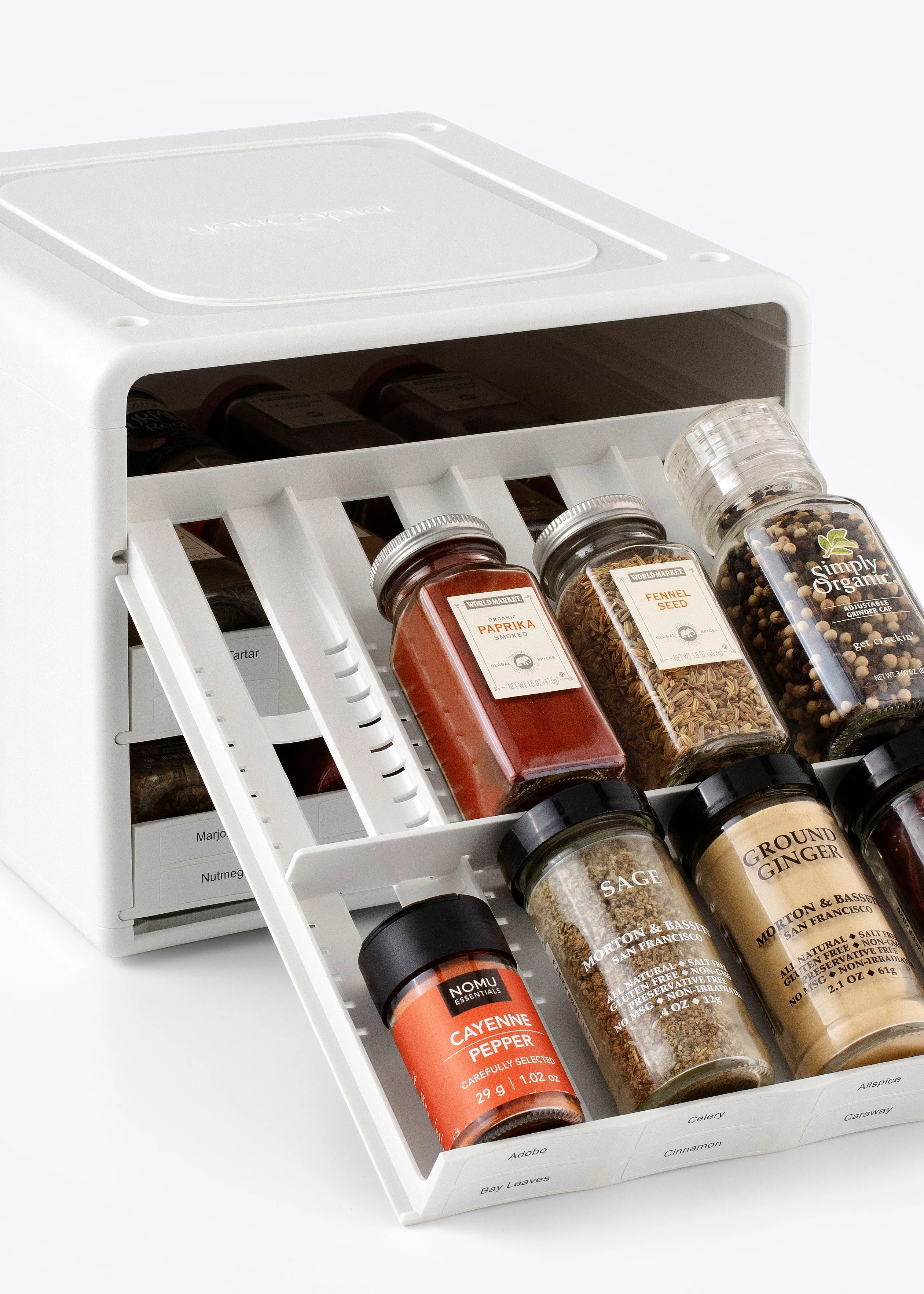 this best spice rack for small spaces