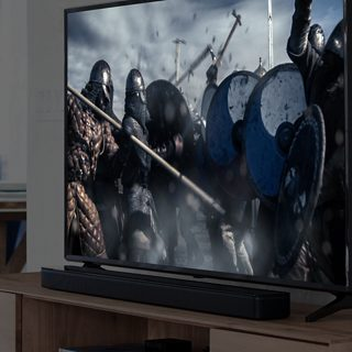 TV with a Bose soundbar