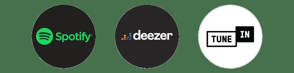 Spotify - Deezer - Tune In