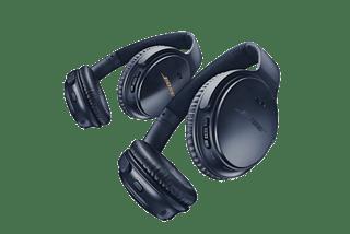 Audífonos inalámbricos QuietComfort 35 II negros y plateados