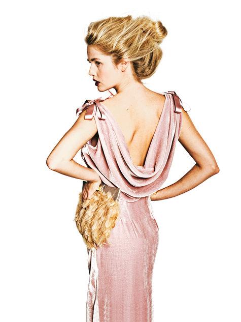 Burda Style Vintage Dress #133