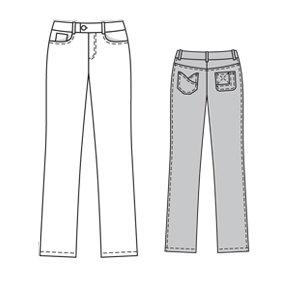 BurdaStyle 6006 Anita Jeans