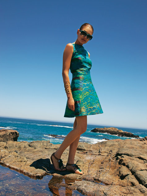 BurdaStyle Dress with A-line Skirt