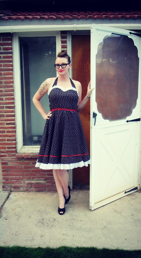 Rockabilly 1950 S Housewife Dress Sewing Projects
