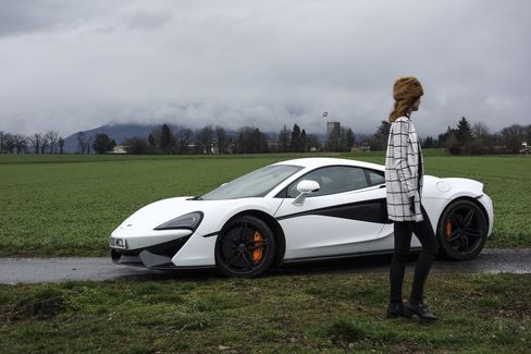 A quick break after cruising country roads around Geneva.