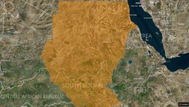 MAP: Sudan