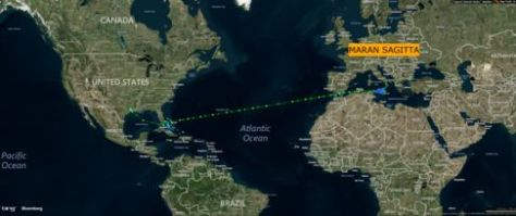 Tracking the Maran Sagitta