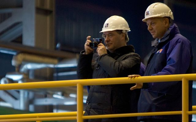 <p>Oil rich.</p> Photographer: Ivan Sekretarev/AFP/Getty Images