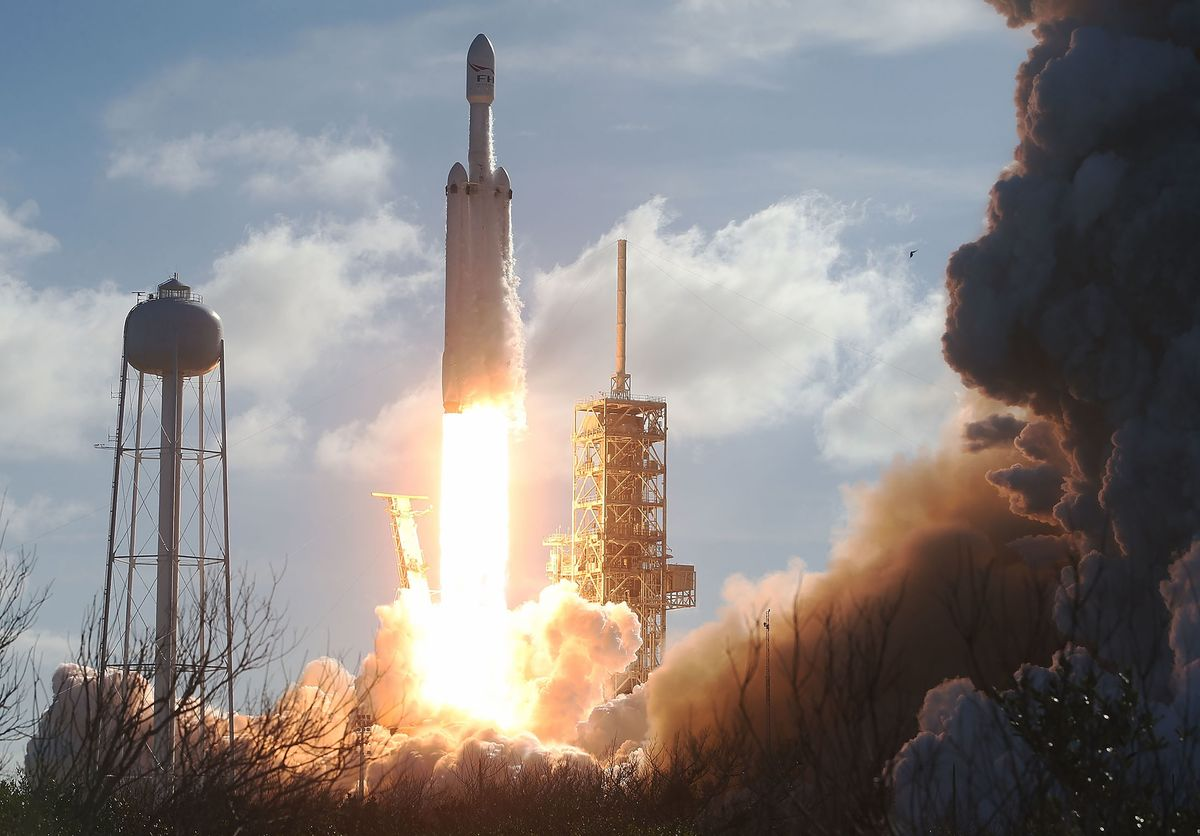 The Billionaire Space Race Is Making Life Difficult For