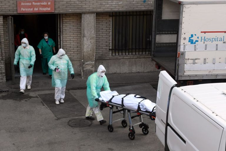 Italy's Virus Toll Resumes Rise While EU Bickers Over Crisis