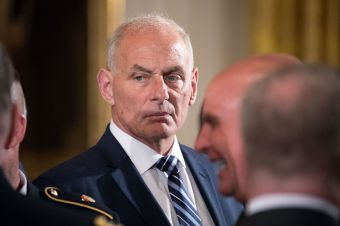 New Chief of Staff Kelly Moves Quickly to Tame Trump's Tweets