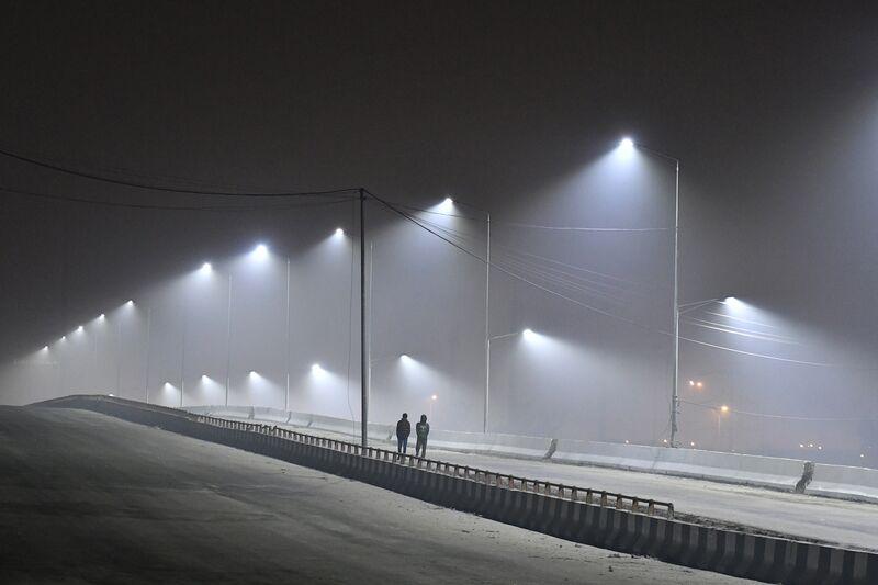 Pollutionin the Indian Capital Skyrockets