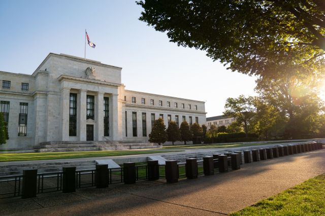 The Marriner S. Eccles Federal Reserve building stands in Washington, D.C., U.S., on Tuesday, Aug. 18, 2020.