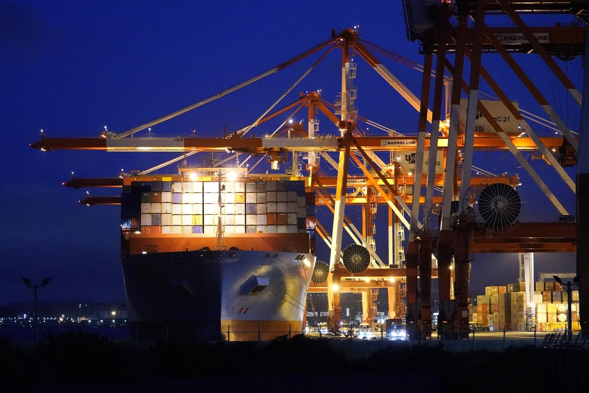 Japan's double-digit exports jumped for the first time since 2018