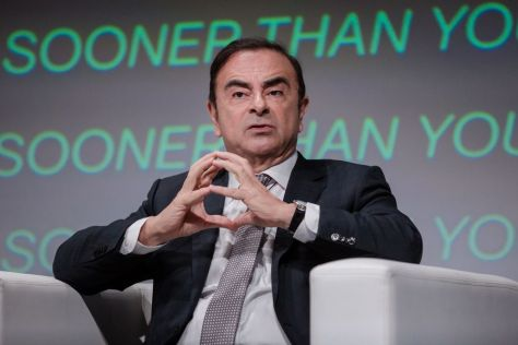 カルロス・ゴーン被告 Photographer: Marlene Awaad/Bloomberg