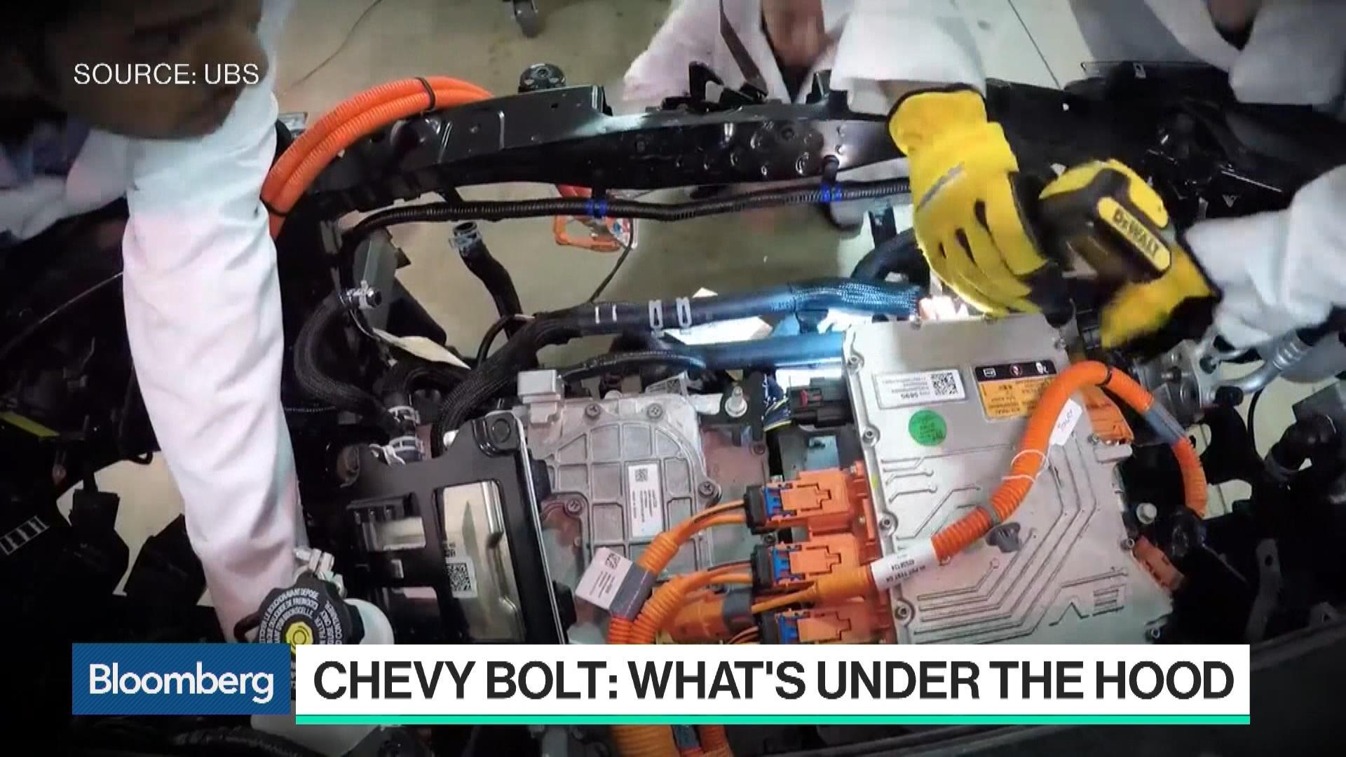 Chevy Bolt Under Hood