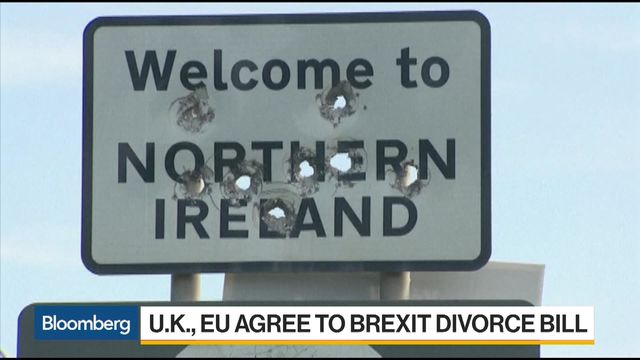 Image result for brexit irish border