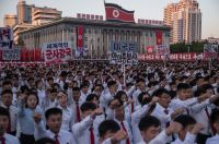 https://www.bloomberg.com/news/articles/2017-09-24/north-korea-stages-anti-us-rally-in-battle-with-trump