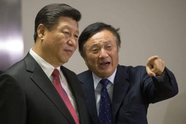 China's President Xi Jinping Visits Huawei Technologies