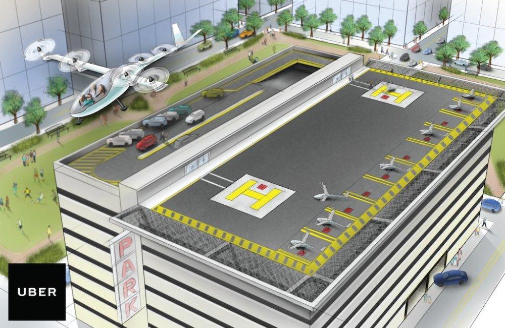 Uber Outlines Vision for Flying Cars