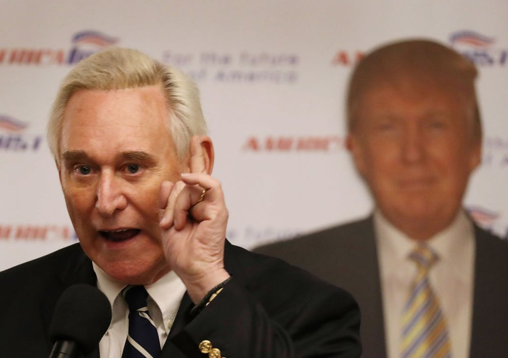 Image result for Robert Mueller indicts Trump associate Roger Stone