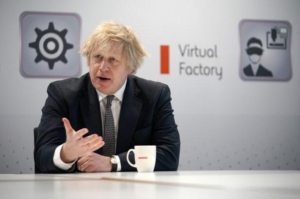 Boris Johnson Touts Defense Policy Vision at BAE Systems Visit