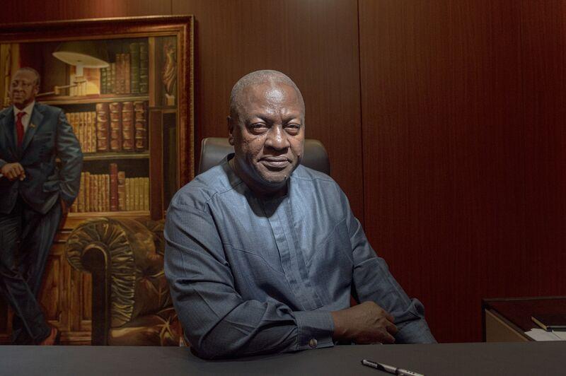 Ghana's Opposition Leader John Mahama Vows Banking Overhaul
