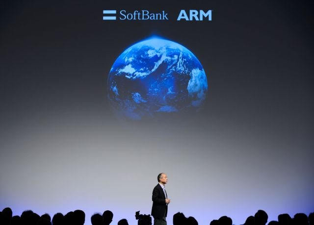 SoftBank Group Corp. Chairman Masayoshi Son Speaks at Conference