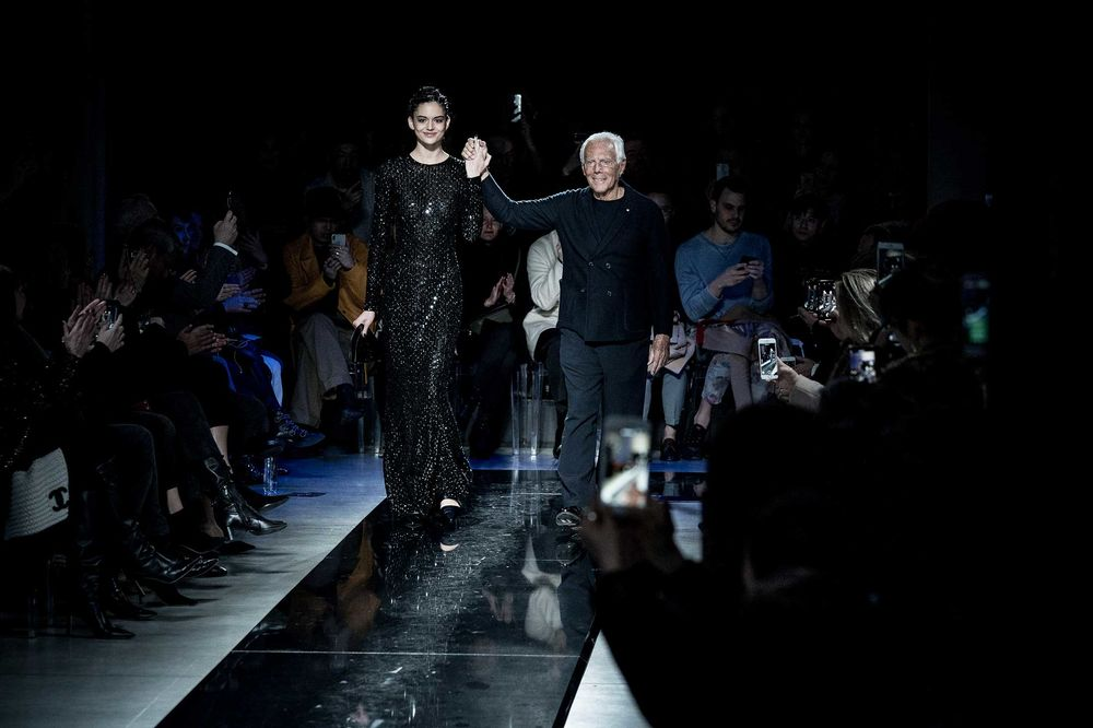 relates to The Clock Is Ticking on Armani's Empire of Timeless Fashion
