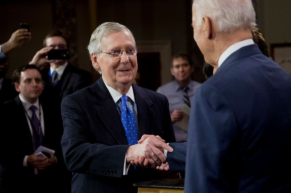 Joe Biden and Mitch McConnell: Is Bipartisanship Possible? - Bloomberg
