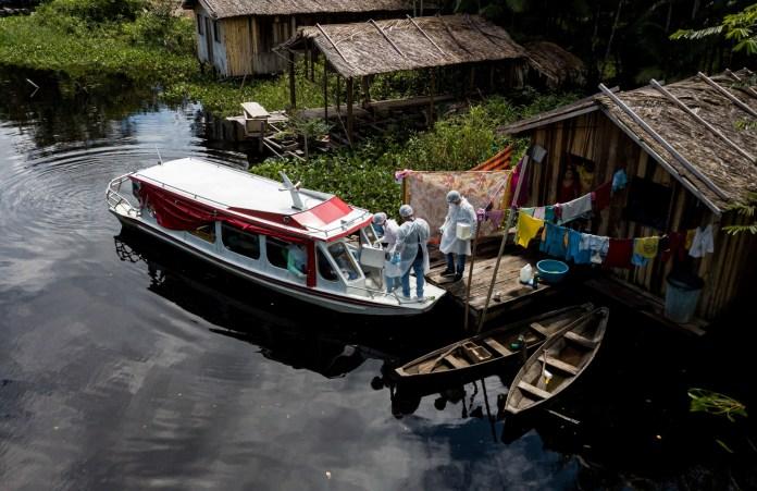 BRAZIL-HEALTH-VIRUS-AMAZON-MARAJO ISLAND