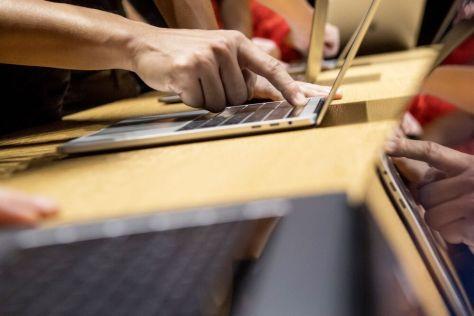 MacBook Pro laptop computer Photographer: David Paul Morris