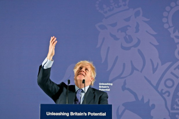 Boris Johnson Post-Brexit Speech & quot;  Britain's Potential & quot;