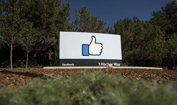 Facebook headquarters in Menlo Park, California.