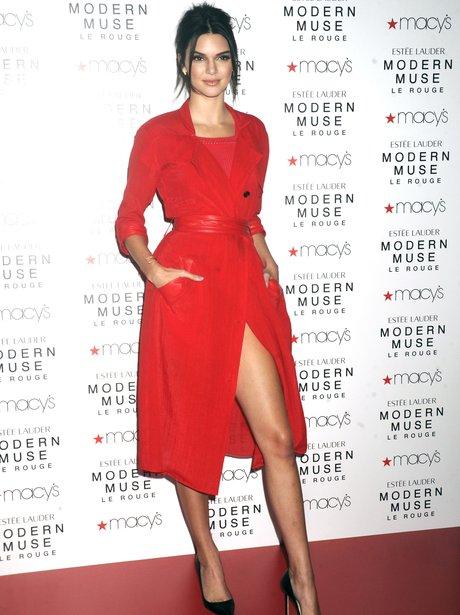 Kendall Jenner Red Dress Esree Lauder