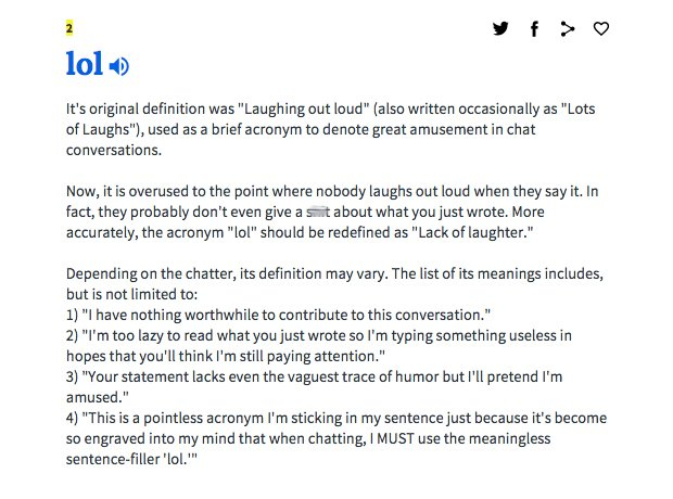 Laugh Out Loud Urban Dictionary