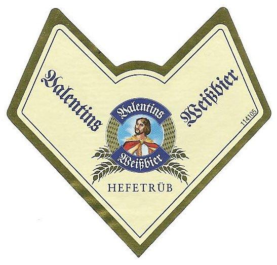 Valentins Hefeweissbier Eichbaum Brauerei Mannheim