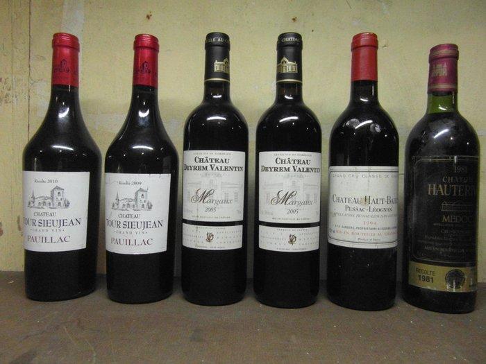 2009 Amp 2010 Chateau Sieujean Pauillac 2x 2005 Chateau