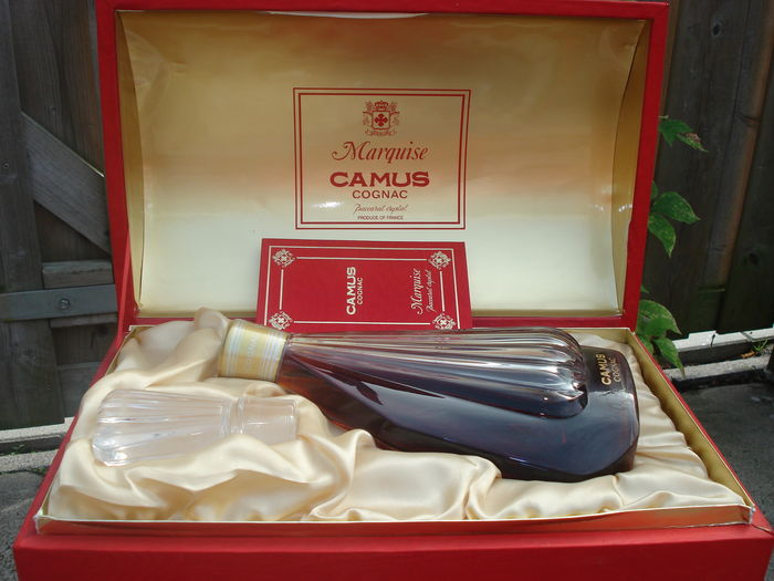 Camus Marquise Baccarat Crystal 1 Decanter In Original