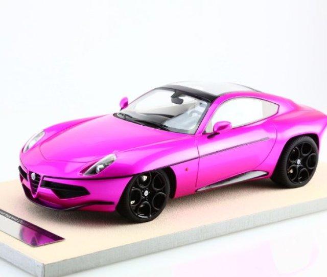 Tecnomodel Scale   Alfa Romeo Disco Volante Touring Superleggera Pink Version