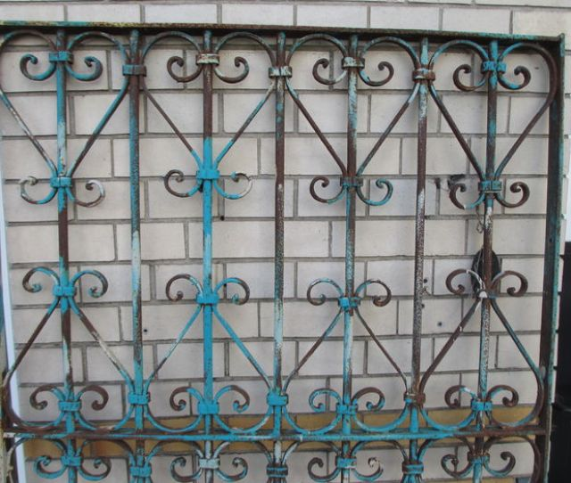 Antique Wrought Iron Fencing