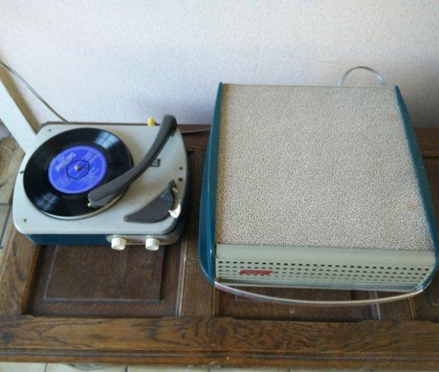 Dual Junior 300 Campio Portable Record Player With Amplifier