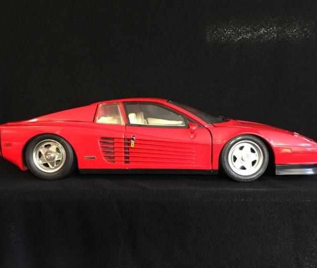 Pocher Scale   Ferrari Testarossa Red